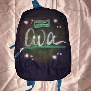 AVA AIR BRUSHED PERSONALIZED BACKPACK NEW PURPLE